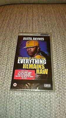 Busta Rhymes: Everything Remains Raw -*- Psp -*- Umd -*- New And Sealed -*-