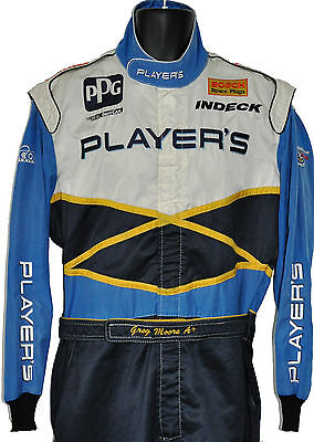 Greg Moore Rare 1996 Indy 500 Player's Crew Suit With Greg's Name On Belt Not F1