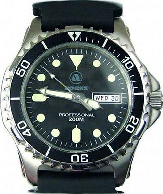 Apeks Professional Dive Watch 200m Mens + Presentation Case Scuba Diving