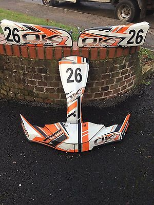 Full Ok1   Body  Kit - Go Kart Rotax Max - Tkm - Rotax