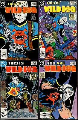 WILD DOG 1 2 3 4 VF+ 8.5 1st appearance CW Arrow Supergirl HOT