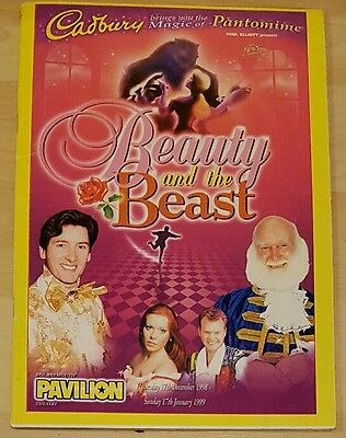 Beauty and the Beast programme Pavillion Theatre Dec-1998 ed. Buster Merryfield