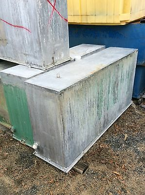 Used 200 Gallons Stainless Steel Rectangular Tank