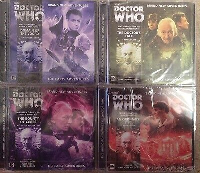 Doctor Who Early Adventures 1.1-1.4 Big Finish Audio