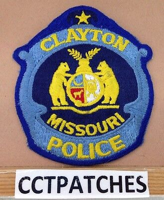 Clayton, Missouri Police Shoulder Patch Mo
