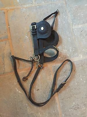 Antique / Vintage Horse Driving Bridles / Blinders .Driving Winkers No 2