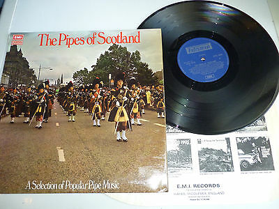 The Pipes Of Scotland Vinyl Lp Stal 5020