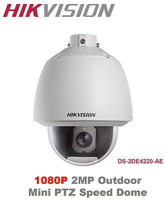 Genuine Hikvision 2MP 1080P Full HD Real-time Outdoor Mini IP Speed Dome - PoE+