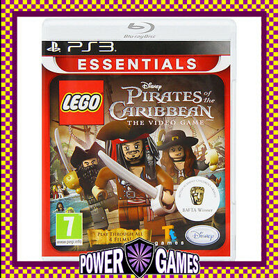 LEGO Pirates of the Caribbean: The Video Game PS3 (Sony PlayStation 3) Brand New