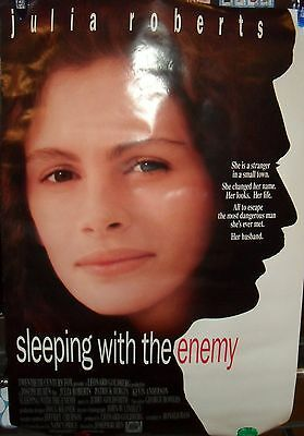 Original Sleeping With The Enemy  27 X 40 Double Sided Theater Movie Poster 1990