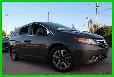 2014 Honda Odyssey Navigation Entertainment 100k Mile Warranty 2014 Touring Used Certified 3.5L V6 24V Automatic FWD Moonroof