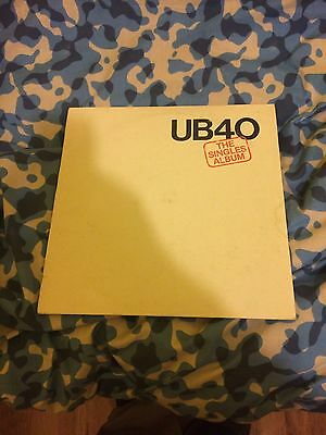 UB40 The Singles Album  Vinyl LP
