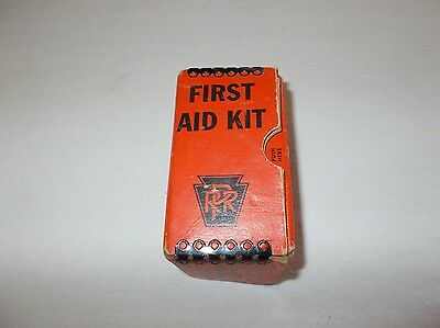 Rare vintage Mine Safety Appliances Co RPR small size first aid kit with content