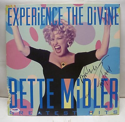 PSA/DNA Certified - Bette Midler Autographed Photo With 1993/1994 Inscription!