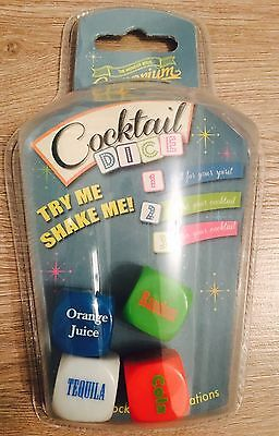 New The Wonder Bros Emporium Cocktail Dice Drinking Game Gift Party Game