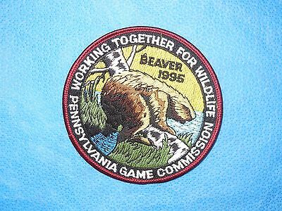 """PGC 1995 4"""" WTFW """"Beaver"""" Ned Smith"""" Patch (NEW)"""