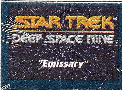 1993 Star Trek Deep Space 9 - cards Frito Lays Chips CANADA - *Emissary*