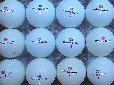 30 balles de golf Wilson Staff -  Excellent état