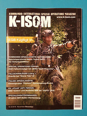K-Isom Special Operations Magazin 6/2016 Nov./Dez. ungelesen 1A absolut TOP