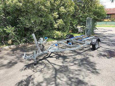 Boat trailer Galvanized