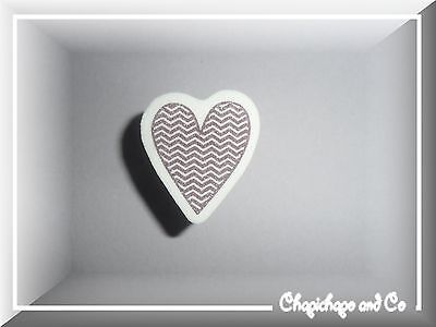 1 Tampon Caoutchouc Coeur  Amour Mariage Carterie Scrapbooking Neuf (C09)