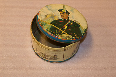 Gray and Dunn Vintage Biscuit Cookie Tin Queens Scottish Archers