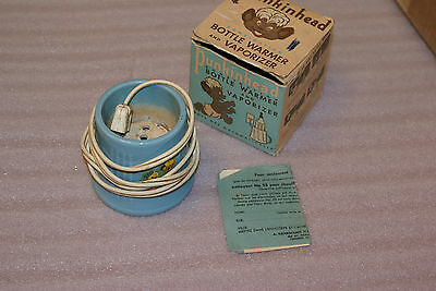 Vintage Punkinhead Bottle Warmer and Vaporizer w Box Eatons Baby