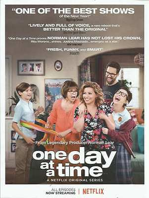 2017 PRINT AD for One Day At A Time Rita Moreno ADVERTISING PAGE