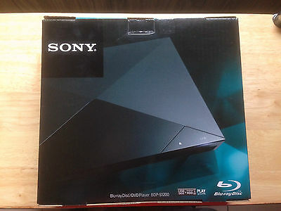 Sony BDP-S1200 Blu-ray & DVD Player w/ Built-in Streaming Apps, Wired