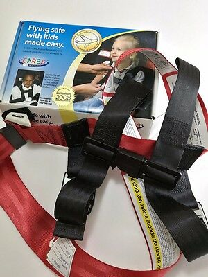 CARES Airplane Harness Kids Fly Safe Safety Seatbelt FAA Approved $80 online.