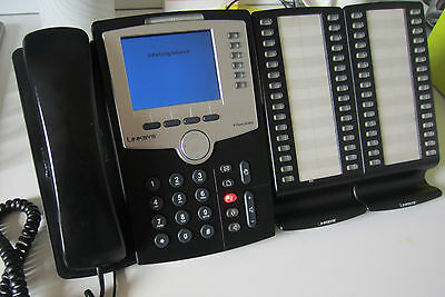 Linksys Cisco SPA962 Enterprise Full Colour VOIP Phone with 6-Line 2 Port Switch