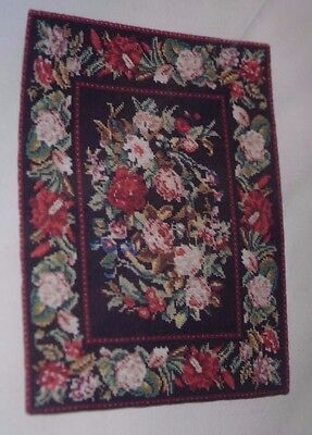 Rug Kit, French Bouquet-Dollhouse Miniature