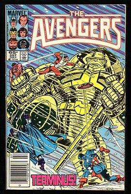 AVENGERS #257 VF- 7.5 1st appearance of Nebula Guardians of the Galaxy 2 HOT