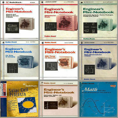 RadioShack's Mims Electronics Engineer's Mini Notebook Series  12 in 1 Bonus CD
