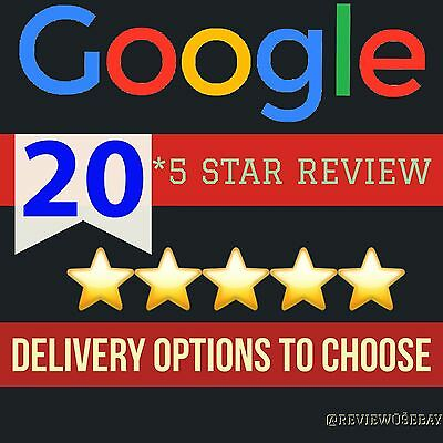 20 Google Reviews 5 STAR For Google Map Local Business, SEO HIGH QUALITY SERVICE