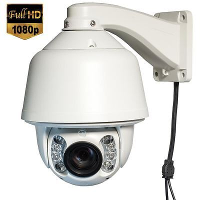 20X 2MP Full HD 1080P Outdoor WDR Auto Tracking Night Vision IP PTZ Speed Dome