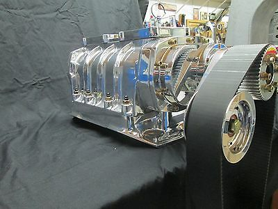 440 Dodge Chrysler 426 Wedge Complete Blower Kit 871 Polished Ready To