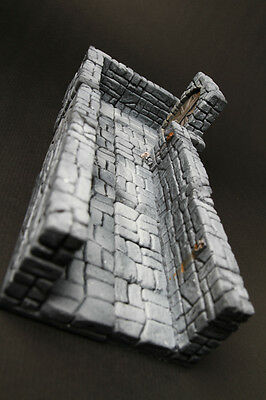 Modular dungeon terrain 12 pieces for dongeon dragon, d&d, warhammer,40k, rpg