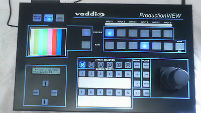 Vaddio ProductionVIEW Video Camera Controller Switcher Monitor System