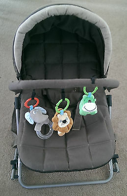 Enigma Baby rocker/bouncer and carrier