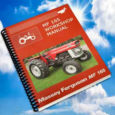 Massey Ferguson 165 150 175 Tractor Service Manual, Parts, Ops, Engines Manuals