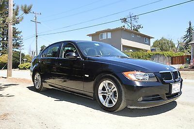 2008 BMW 3-Series 328i 2008 BMW 328i Black on Black Leather with Nav