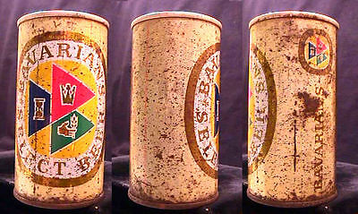 Bavarian's Select Beer - Mid 1960's - 12Oz Early Style Pull Tab Can - Covington