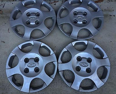 HYUNDAI Elantra.  2002-2003-2004 hub caps .. Set of 4..15""