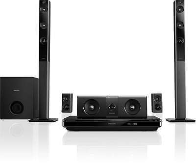 Philips 5.1 3D Blu-Ray Home Theatre - Black