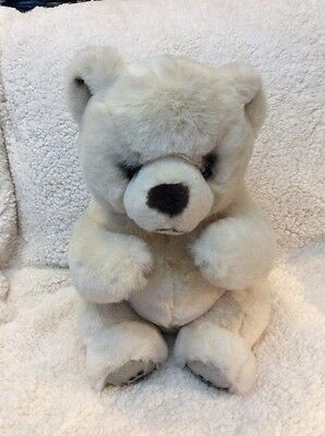 "Russ Berrie Yomiko 15"" Plush Stuffed  Bear Leather Paws   2-C"