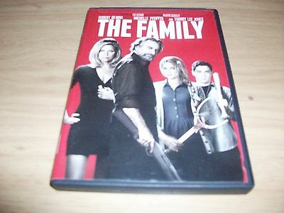 Thriller Movie: The Family! Used & In Excellent Condition! Robert Deniro!!!!!!!!