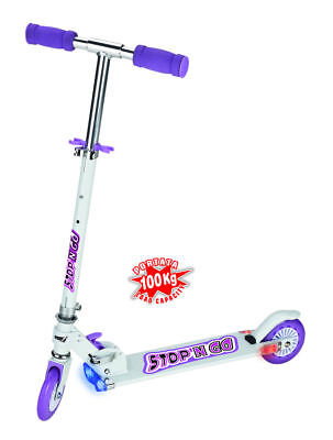Sport1 foldable scooter stopn go cm 85h white