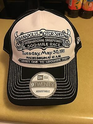 The Inaugural  1911 International 500 - Mile Sweepstakes Race Indianapolis Hat