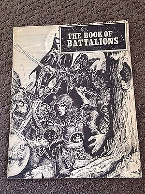 Warhammer 1st Edition - Book of Battalions - 1983, Very Rare, Great Condition!